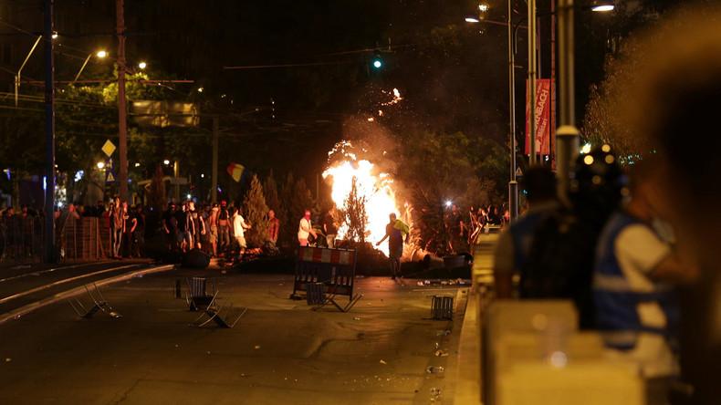 Zusammenstöße bei Demonstrationen in Rumänien – Viele Verletzte