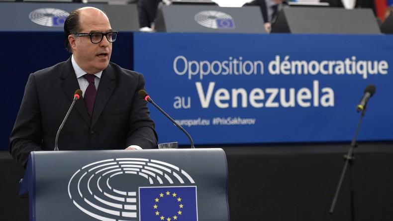 Venezuela schreibt Oppositionsführer Julio Borges weltweit zur Fahndung aus