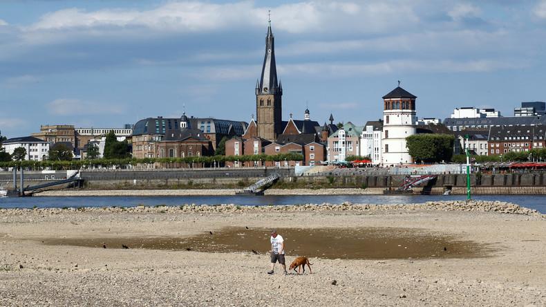 Hitzwelle: Die Dürre hinterließ Schäden von mehr als einer Milliarde Euro