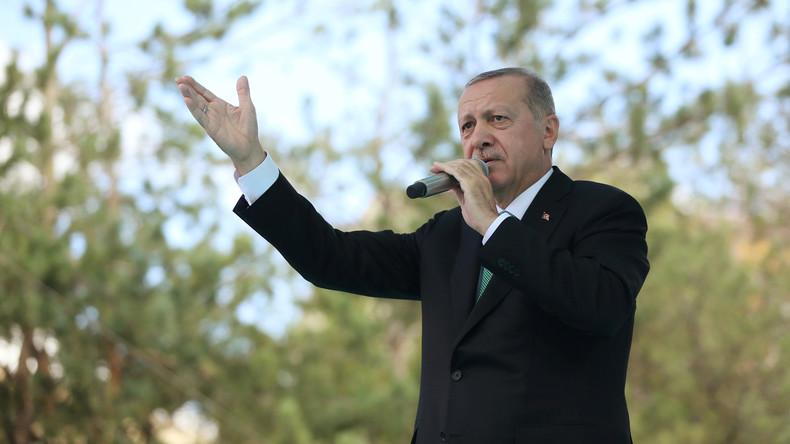 """Recep Tayyip Erdoğan warnt USA vor weiterer Eskalation:  Partnerschaft könnte """"in Gefahr sein"""""""