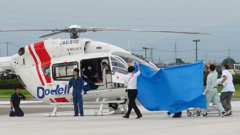 Neun Tote bei Hubschrauberabsturz in Japan