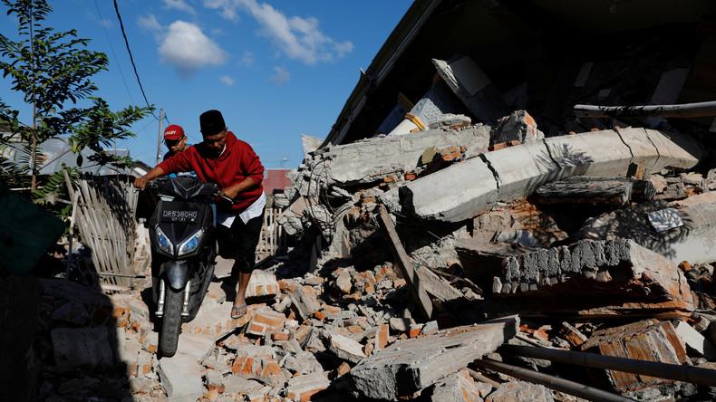 Indonesien: Zahl der Erdbeben-Toten steigt auf 387