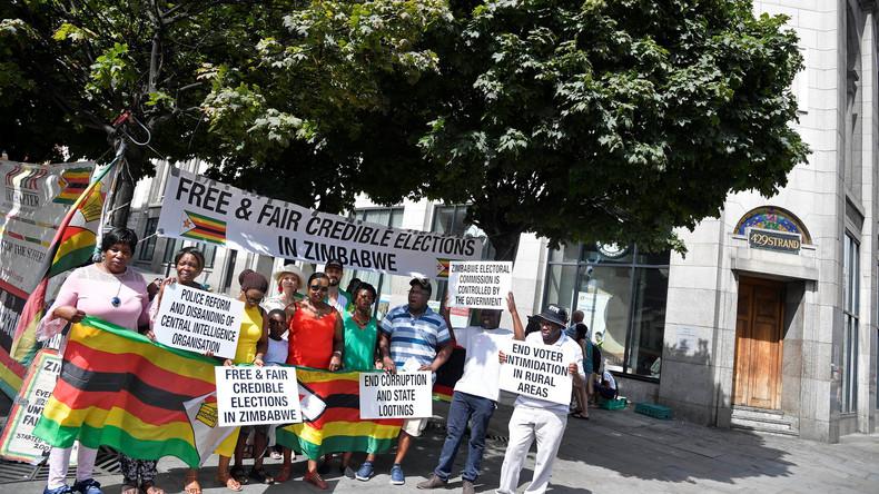 Klage gegen Präsidentenwahl in Simbabwe verhindert Emmerson Mnangagwas Amtseinführung