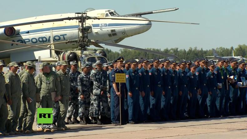 Russland gewinnt Militärflugwettbewerb Aviadarts 2018