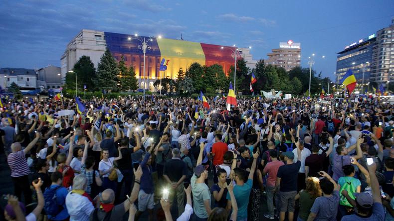 Tausende Rumänen demonstrieren erneut gegen Regierung