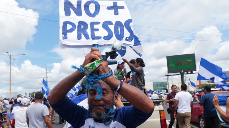 Tausende Nicaraguaner fordern Freilassung von politischen Gefangenen