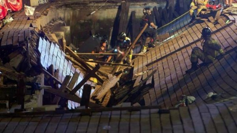 Holzplattform bei Konzert in Spanien eingestürzt – über 300 Verletzte