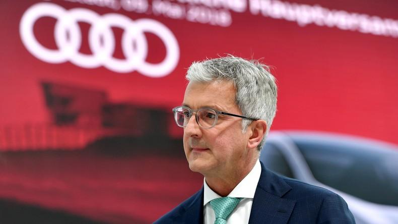 Haftbeschwerde verworfen: Audi-Chef Stadler bleibt im Gefängnis