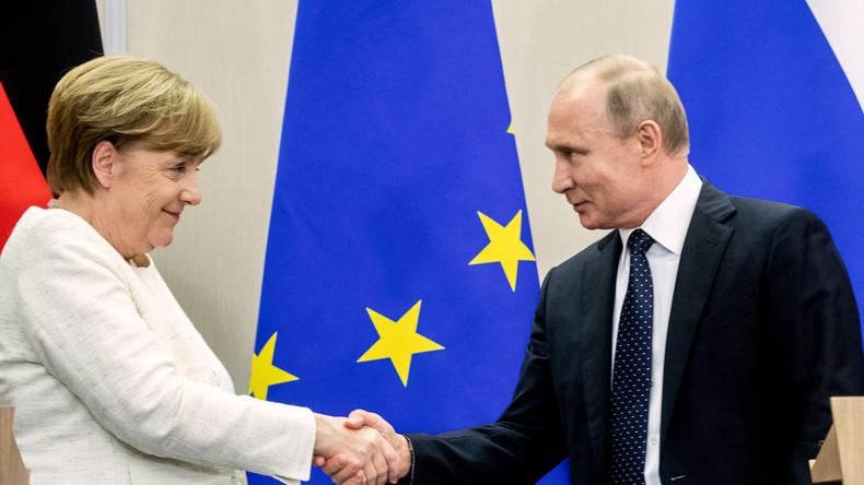 Merkel und Putin treffen sich am 18. August in Deutschland