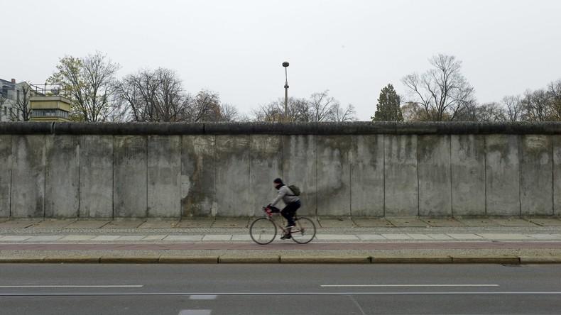 Erinnerung an Opfer der Teilung - Neues Mauerstück in Berlin entdeckt