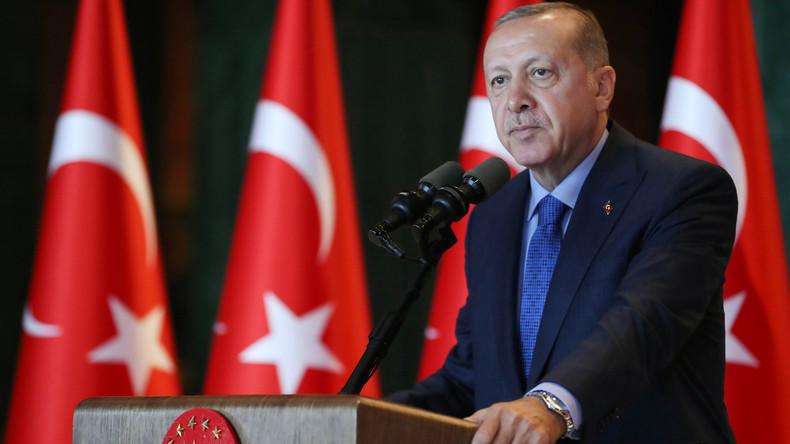 Türkischer Präsident Erdogan kündigt Boykott von US-Elektronikgütern an