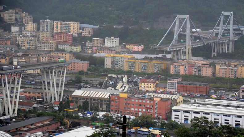 Zahl der Toten nach Brückeneinsturz in Genua auf 42 gestiegen