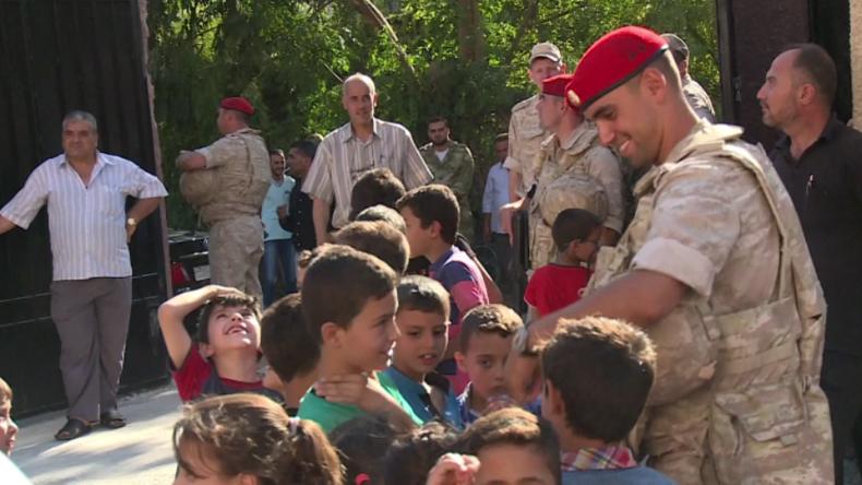 Syrien auf dem Weg zum Frieden: Hunderte Menschen kehren nach Flucht in ihr Land zurück