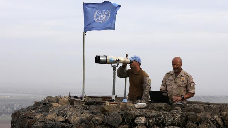 Syrien: UN-Friedenstruppen kehren mit russischer Hilfe auf umstrittene Golanhöhen zurück (Video)