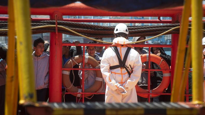 Spanische Seenotrettung birgt erneut mehr als 500 Flüchtlinge