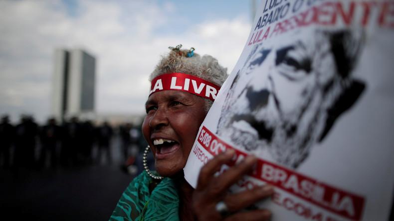 Brasilien: Inhaftierter Lula als Präsidentschaftskandidat registriert
