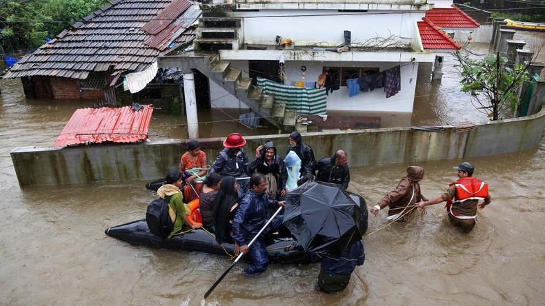 Monsun in Indien: Mittlerweile 164 Tote