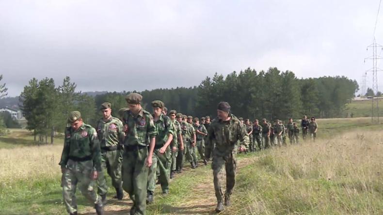 Serbien: Jugendliche nehmen an erstem serbisch-russischem Militär-Camp teil