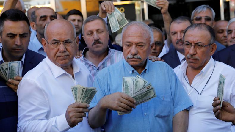 Türkei folgt russischem sowie japanischem Beispiel und stößt US-Staatsanleihen ab