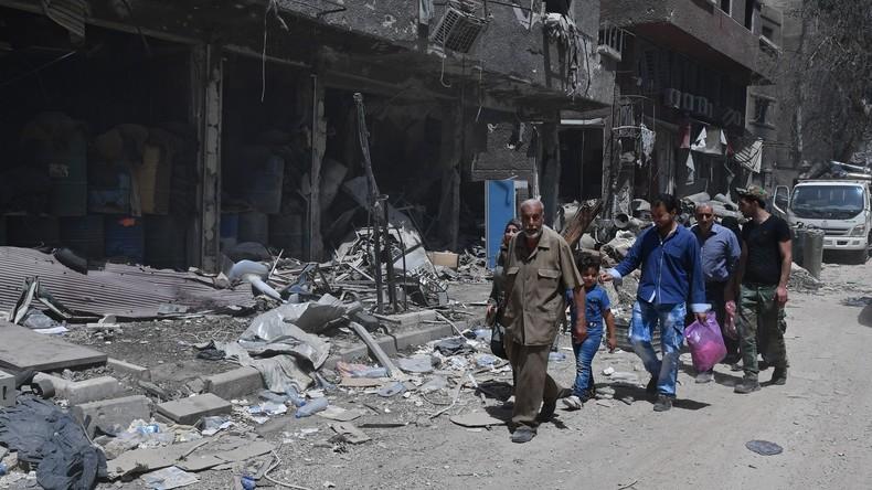 Syrien: Nach Jahren des Krieges beginnt der Wiederaufbau (Video)