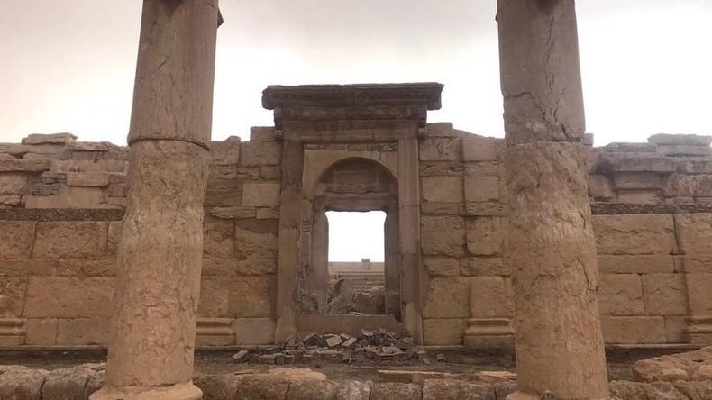 Syrischer Gouverneur: Antike Stadt Palmyra soll Mitte 2019 Touristen empfangen