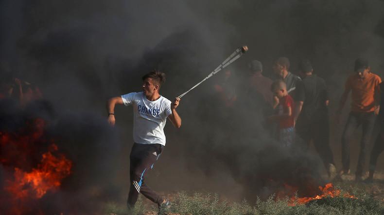 Palästinenser bei Zusammenstößen an der Gaza-Grenze getötet