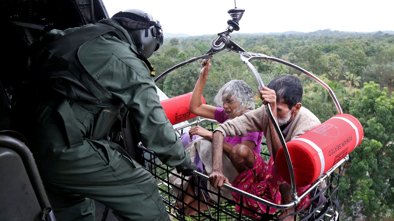 Flut in Südindien: Zahl der Opfer steigt stark an