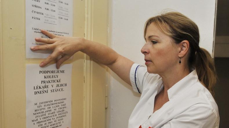 Tschechische Krankenschwestern und Pfleger erwägen landesweiten Streik