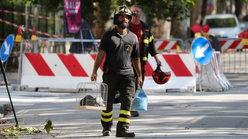 Brückeneinsturz in Genua: Zahl der Todesopfer steigt auf 41