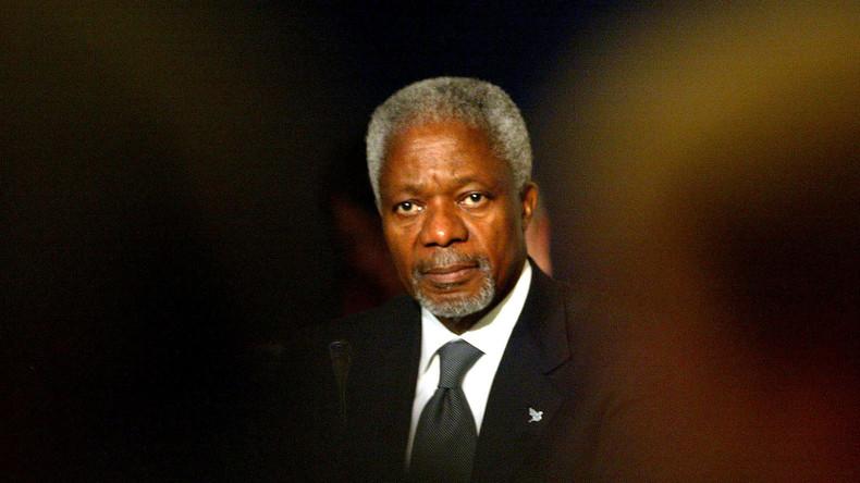Kofi Annan verstorben