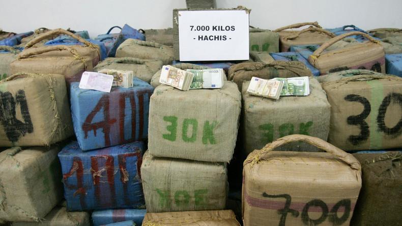 Sieben Tonnen Haschisch und elf Verdächtige – Spanische Polizei zerschlägt Drogenring