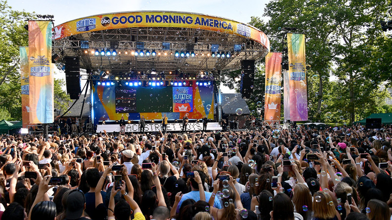 """USA: Mehrere Verletzte vor Konzert von """"Backstreet Boys"""""""