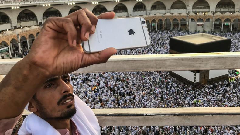 Zwei Millionen Pilger beginnen muslimische Pilgerfahrt