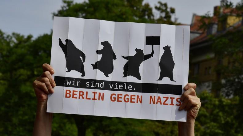 Berliner Polizei leitet 45 Ermittlungsverfahren nach Neonazi-Aufmarsch ein