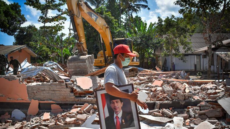 Erdbeben der Stärke 6,9 erschüttert indonesische Insel Lombok