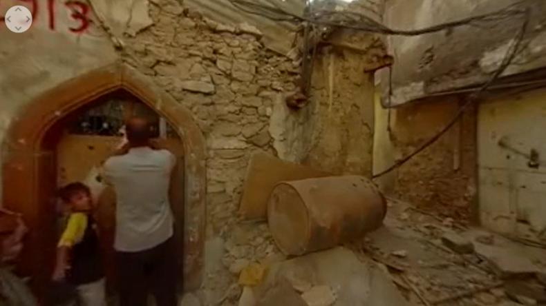 Mossul: Die Hölle in 360° - Wie eine Familie hier IS-Besatzung und Bombenregen der Befreier erlebte