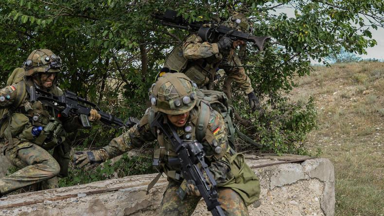 """""""Kampfbereit"""" - NATO-Kriegsspiele mit deutscher Beteiligung in Georgien in Nähe russischer Grenze"""