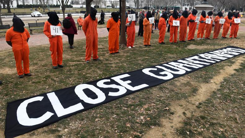 In Guantánamo werden die Menschenrechte noch immer mit Füßen getreten