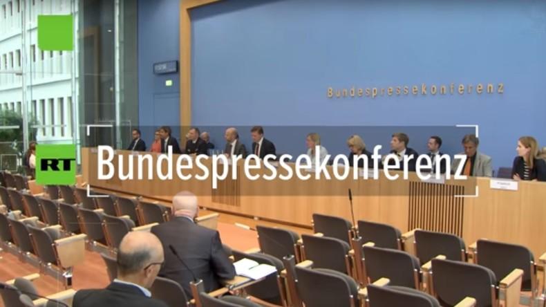 Bundespressekonferenz: Neues Format zu Syrien möglich – Wiederaufbau derzeit keine Priorität