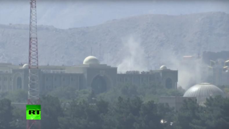 Massiver Raketenangriff auf Präsidentenpalast in Kabul