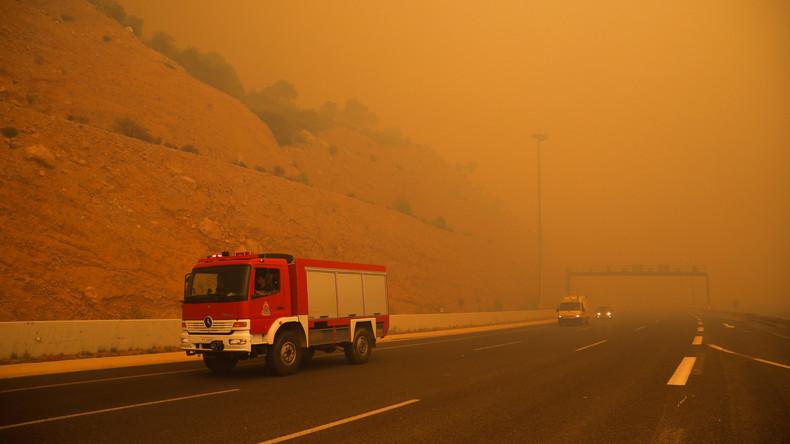 Brandkatastrophe bei Athen mit 96 Opfern: Unvorsichtiger Anwohner löste Brand aus - Feuerwehr