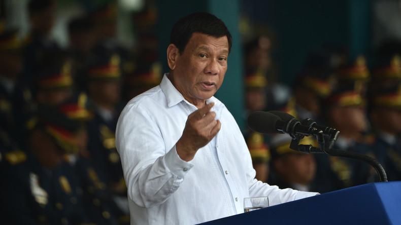 """""""Wer seid ihr, uns zu warnen?"""": Duterte empört nach US-Warnung vor Einkauf von russischen Waffen"""