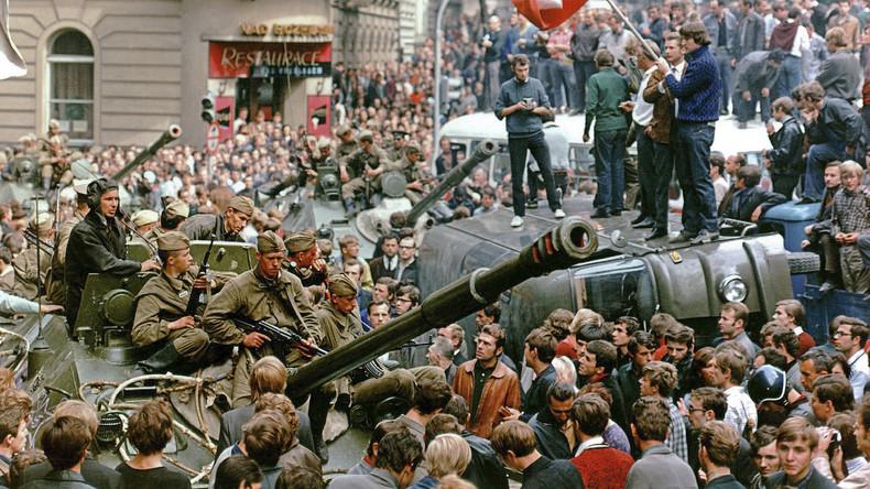 Heute vor 50 Jahren: Als sowjetische Panzer den Prager Frühling niederschlugen