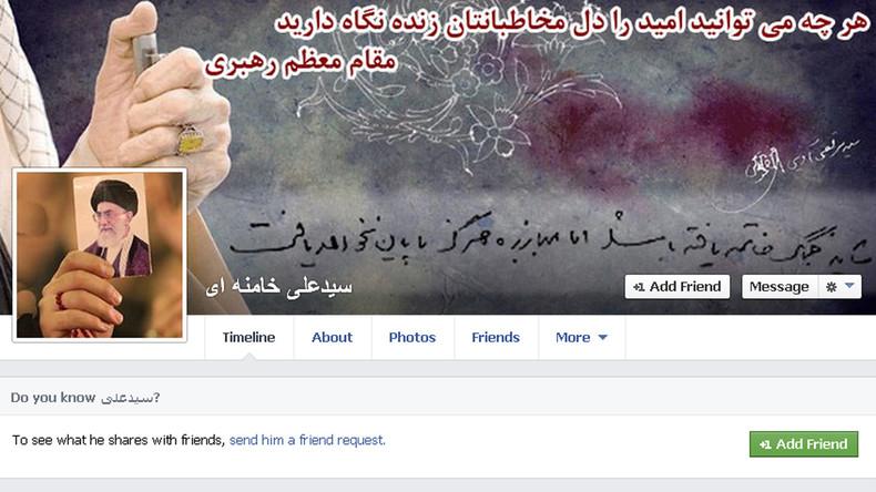 Facebook und Twitter entdecken neues Zensur-Feld: Angebliche Propaganda-Bots aus dem Iran