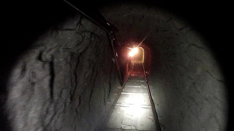 Hintertür des Drogenkartels: Tunnel für Drogenschmuggel im Boden eines Restaurants in USA entdeckt