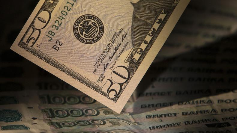 Außenministerium in Moskau: Die Zeit ist gekommen, dass Russland endgültig den US-Dollar los wird
