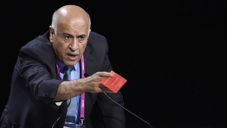 FIFA sperrt Palästinas Verbandschef wegen Aufrufen gegen Spiel zwischen Israel und Argentinien