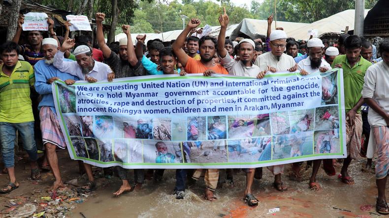 Vertriebene Rohingya verlangen sichere Rückkehr nach Myanmar