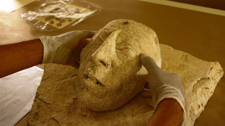 Mexikanische Archäologen entdecken womöglich Porträt von Maya-Herrscher