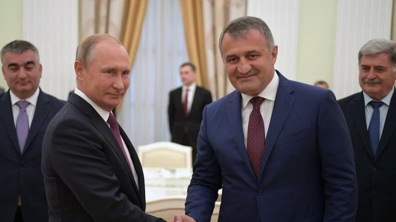 Putin: Russland wird Unterstützung für Südossetien in Fragen nationaler Sicherheit aufrechterhalten